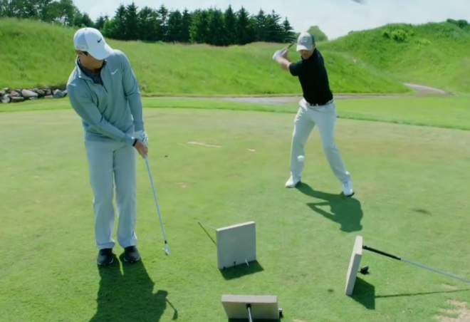 Rory McIlroy Golf Trick Shots